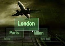 επιχείρηση αεροπλάνων στοκ εικόνα