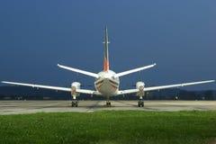 επιχείρηση αεροσκαφών Στοκ εικόνα με δικαίωμα ελεύθερης χρήσης