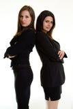επιχείρηση δύο γυναίκες Στοκ φωτογραφία με δικαίωμα ελεύθερης χρήσης