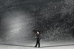 επιχείρηση επικίνδυνη Στοκ φωτογραφία με δικαίωμα ελεύθερης χρήσης