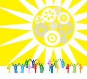 Επιχείρηση: Η καλημέρα ελεύθερη απεικόνιση δικαιώματος