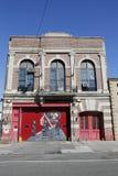 Επιχείρηση 255 μηχανών πυρσοβεστικός σταθμός στο Μπρούκλιν Στοκ Φωτογραφία