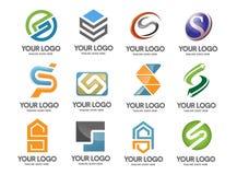 Επιχείρηση λογότυπων γραμμάτων S Στοκ εικόνες με δικαίωμα ελεύθερης χρήσης