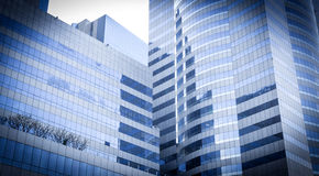 επιχείρηση οικοδόμησης, εταιρικό κτήριο, κτίριο γραφείων γυαλιού Στοκ Φωτογραφία