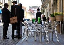 επιχείρηση που συζητά τους ανθρώπους Στοκ Φωτογραφία