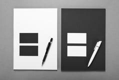 Επιχείρηση προτύπων για το μαρκάρισμα Εταιρικό desi προτύπων ταυτότητας Στοκ φωτογραφίες με δικαίωμα ελεύθερης χρήσης