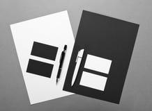 Επιχείρηση προτύπων για το μαρκάρισμα Εταιρικό desi προτύπων ταυτότητας Στοκ φωτογραφία με δικαίωμα ελεύθερης χρήσης