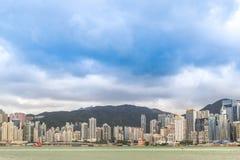 Επιχείρηση πόλεων Χονγκ Κονγκ κεντρικός Στοκ Εικόνες