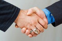 επιχείρηση συμφωνίας Στοκ Εικόνα