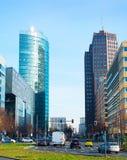 Επιχείρηση του Βερολίνου στο κέντρο της πόλης Στοκ εικόνες με δικαίωμα ελεύθερης χρήσης