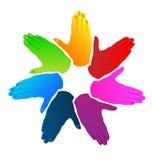 Επιχείρηση χεριών  Στοκ φωτογραφία με δικαίωμα ελεύθερης χρήσης