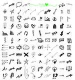 Επιχείρηση doodles Στοκ φωτογραφία με δικαίωμα ελεύθερης χρήσης