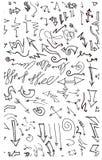 Επιχείρηση doodles Στοκ Φωτογραφία