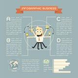 Επιχείρηση Infographics διανυσματική απεικόνιση