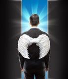 Επιχειρηματίας-άγγελος Στοκ φωτογραφία με δικαίωμα ελεύθερης χρήσης