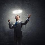 Επιχειρηματίας Αγίου Στοκ φωτογραφίες με δικαίωμα ελεύθερης χρήσης