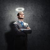 Επιχειρηματίας Αγίου Στοκ Εικόνες