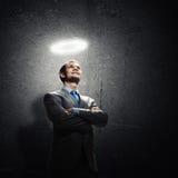 Επιχειρηματίας Αγίου Στοκ Φωτογραφίες