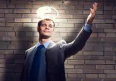 Επιχειρηματίας Αγίου στοκ φωτογραφία