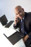 επιχειρηματίας απασχολημένος στοκ εικόνες