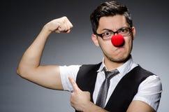 επιχειρηματίας αστείος Στοκ Εικόνες