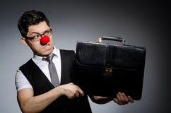 επιχειρηματίας αστείος Στοκ εικόνες με δικαίωμα ελεύθερης χρήσης