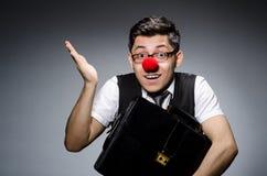 επιχειρηματίας αστείος Στοκ φωτογραφία με δικαίωμα ελεύθερης χρήσης