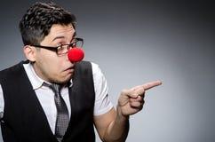 επιχειρηματίας αστείος Στοκ Φωτογραφίες