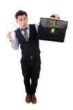 επιχειρηματίας αστείος Στοκ Εικόνα