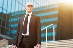 επιχειρηματίας βέβαιος Στοκ Εικόνα