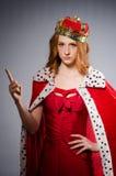 Επιχειρηματίας βασίλισσας Στοκ εικόνες με δικαίωμα ελεύθερης χρήσης