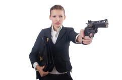 Επιχειρηματίας γυναικών Στοκ Εικόνες