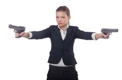 Επιχειρηματίας γυναικών Στοκ εικόνες με δικαίωμα ελεύθερης χρήσης