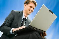 επιχειρηματίας επιτυχής Στοκ φωτογραφία με δικαίωμα ελεύθερης χρήσης