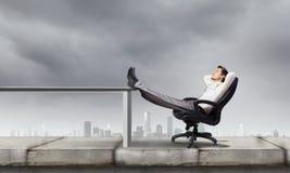 επιχειρηματίας επιτυχής Στοκ Εικόνες