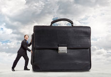επιχειρηματίας εργατικός Στοκ Εικόνες