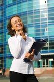 επιχειρηματίας ευτυχής στοκ εικόνες με δικαίωμα ελεύθερης χρήσης