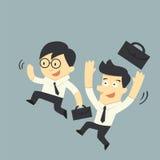 επιχειρηματίας ευτυχής ελεύθερη απεικόνιση δικαιώματος