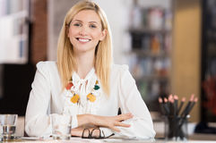 επιχειρηματίας ευτυχής Στοκ φωτογραφίες με δικαίωμα ελεύθερης χρήσης