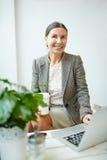επιχειρηματίας ευτυχής Στοκ Εικόνες