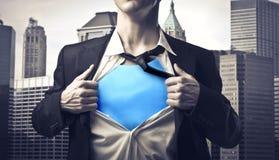 επιχειρηματίας ισχυρός στοκ φωτογραφία με δικαίωμα ελεύθερης χρήσης