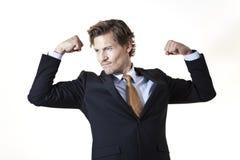 Επιχειρηματίας κάμψης Στοκ Φωτογραφίες