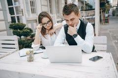 Επιχειρηματίας και άτομο στοκ φωτογραφίες