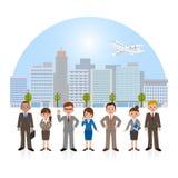 Επιχειρηματίας και επιχειρηματίας Στοκ Εικόνες
