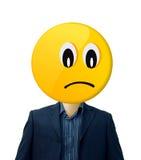 επιχειρηματίας λυπημένο&sig Στοκ Φωτογραφίες