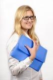 Επιχειρηματίας με τα γυαλιά Στοκ φωτογραφίες με δικαίωμα ελεύθερης χρήσης