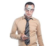 Επιχειρηματίας με τα χρήματα στοκ φωτογραφία με δικαίωμα ελεύθερης χρήσης