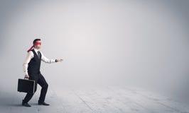 Επιχειρηματίας με τα blindfolds Στοκ εικόνα με δικαίωμα ελεύθερης χρήσης