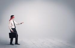 Επιχειρηματίας με τα blindfolds Στοκ Εικόνα