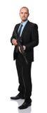 Επιχειρηματίας με το τουφέκι Στοκ εικόνα με δικαίωμα ελεύθερης χρήσης